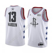 Camisetas NBA Baratas Houston Rockets 2019 James Harden 13# Blanco All Star Game Swingman..